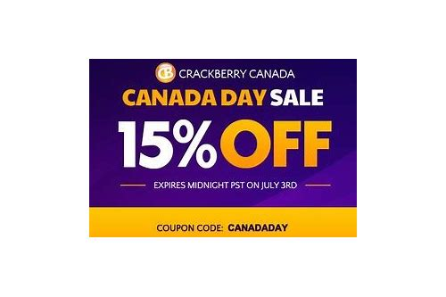 crackberry canada coupons