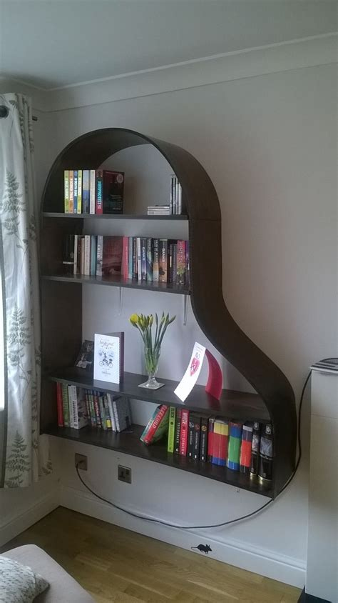 8 best images about piano bookshelves on