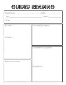 guided reading template clear and concise guided reading