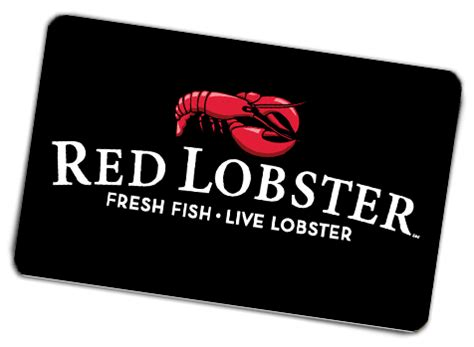 Free Gift Cards In The Mail - gift cards red lobster seafood restaurants