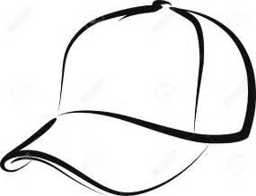 hat outline template baseball caps outline clipart