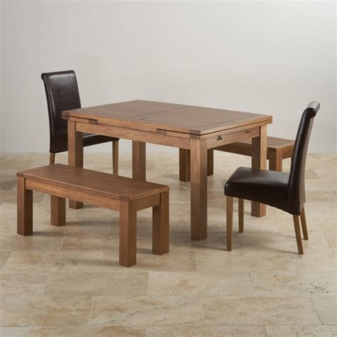 3ft dining table sets rustic oak dining set extending table 2 benches and 2