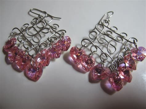 Handmade Earrings Designs - s designs handmade wire jewelry wire wrapped