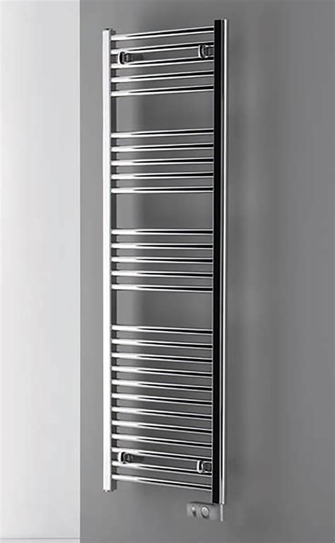 scaldasalviette da bagno termoarredo cromato elettrico radiatore da bagno ebay