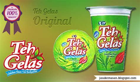 Teh Gelas Bandulan desain kemasan minuman teh gelas jasa desain grafis jasa