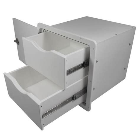 2 Drawer Storage Unit Teak Isle Two Drawer Storage Unit 13770 51031