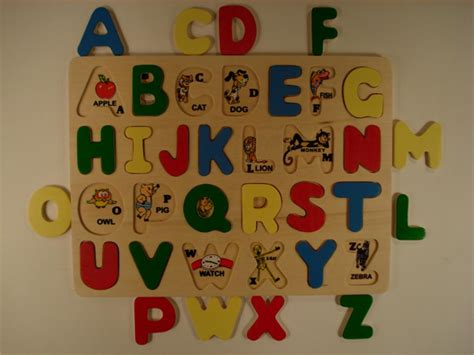 Letter Puzzles letters of the alphabet puzzle in vancouver letgo