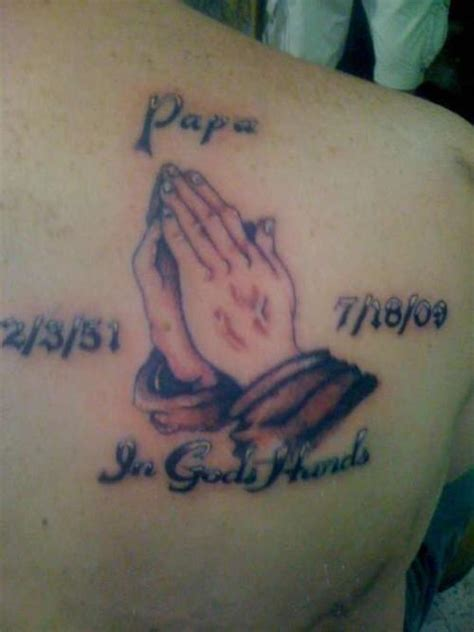 in gods hands tattoo 20 praying designs creativefan