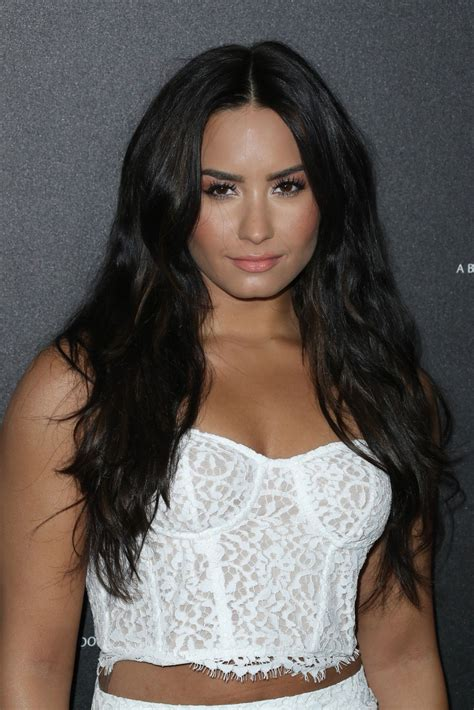 Is Demi Nation by Demi Lovato At 2017 Roc Nation Pre Grammy Brunch In Los