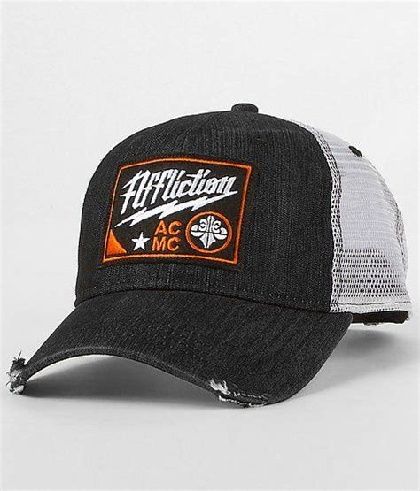 Topi Trucker Costum Dennizzy Clothing quot affliction american customs afterburn trucker hat quot www buckle edgy s style
