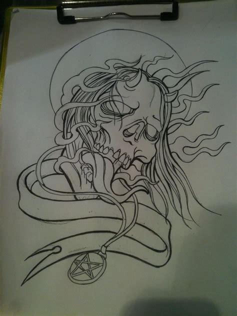 tattoo drawing process burn with no regrets process by piglegion on deviantart