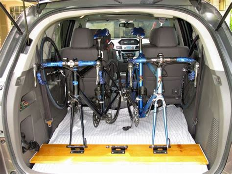 Inside Suv Bike Rack suv bike rack for inside the car diy