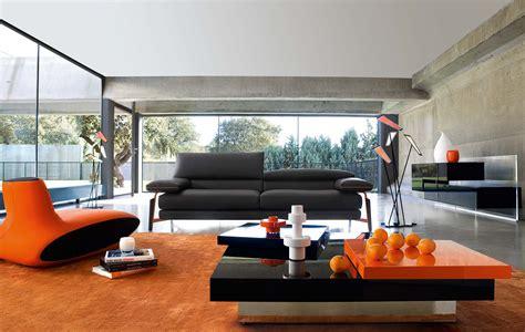 adorn  interior  orange sofa homesfeed