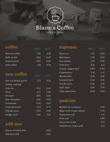 Coffee Shop Menu Templates by Coffee Shop Menu Templates Canva