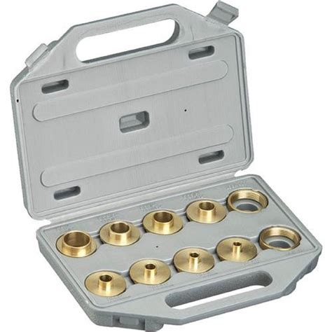 brass router template bushing guide kit set for porter