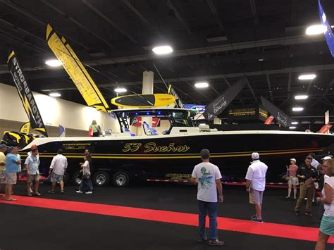 fort lauderdale boat show address 53 hydrasport biggest center console in the world and