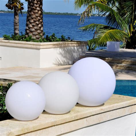 Outdoor Sphere Lights Coolfunlight Led Lighting Pool Decoration Sphere Overstock Shopping Big Discounts On Other