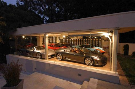 awesome car garage world s most beautiful garages exotics insane garage
