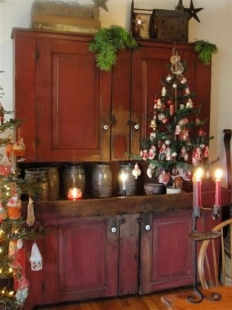 primitive kitchen furniture 18 best christmas trees colonial primitive country