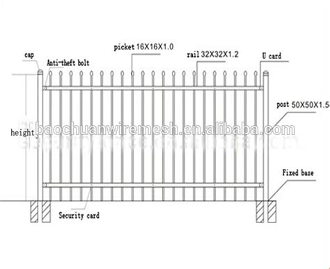 Cheap Metal Vinyl Wrought Iron Fence Used Buy Wrought