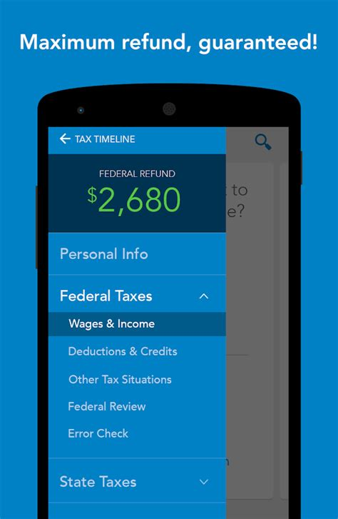 7 Best Tax Prep Apps For The Iphone by Turbotax Tax Preparation Android Apps On Play