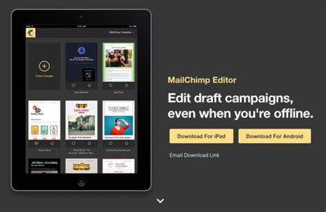mailchimp mobile app mailchimp vs constant contact which one is the best for