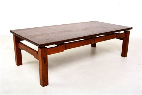 teak coffee table solid teak coffee table for sale at 1stdibs