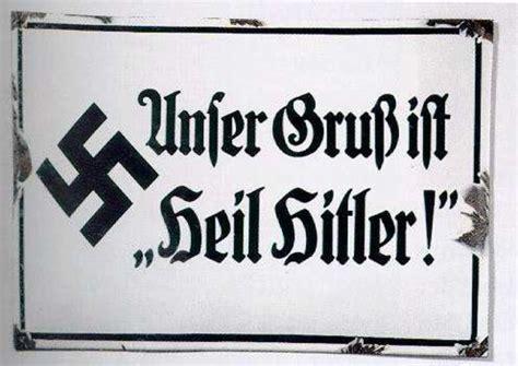 Kennzeichen Aufkleber Urteil by Schild Quot Unser Gru 223 Ist Quot Heil Quot Nach 1933