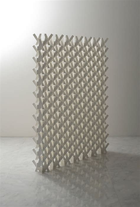 origami screen a divider screen made of paper design milk