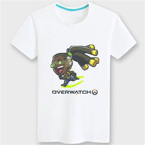 T Shirt Mccree Overwatch Yellow Color Overwatch Lucio Shirt Black Tshirts Wishining