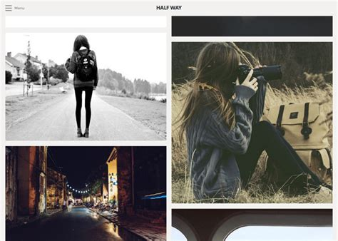 tumblr themes free large photos half way tumblr