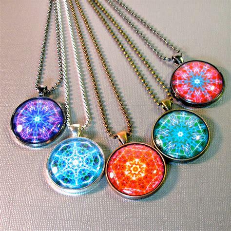Handmade Mandala - new age jewelry mandala handmade gift ideas