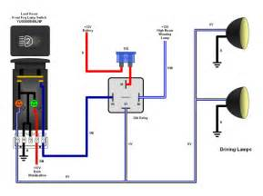4 pin relay wiring diagram aux light 4 get free image