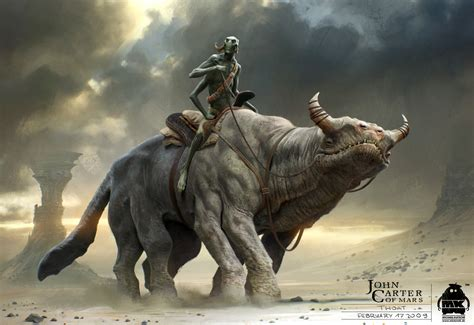epic film creature battle beast new john carter concept art revealed the reel bits