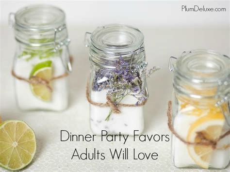Dinner Party Gifts | party favors adults will love