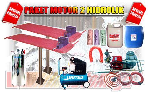 Alat Cuci Motor Bali kusus peralatan cuci motor paket cuci motor 2 hidrolik