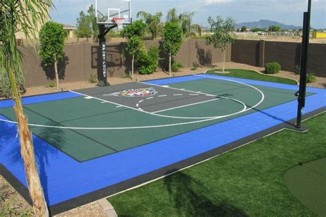 1000 ideas about backyard basketball court on