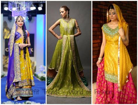 collection of 25 henna fashion 15 stylish mehndi dresses collection this season