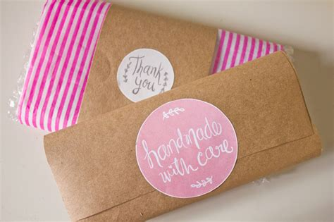 Handmade With Care - free printable labels to kick up your packaging handmade