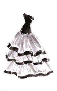 imagenes de quinceañeras a lapiz dibujos de vestidos para imprimir dise 241 o de moda
