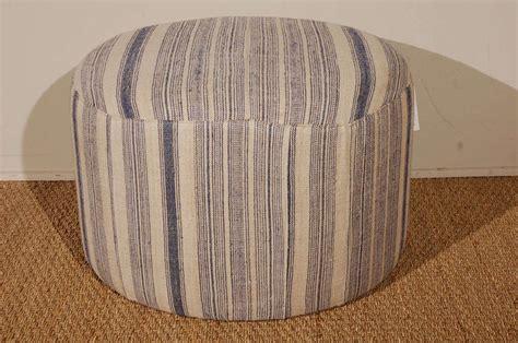 Small Fabric Ottoman Vintage Hmong Hemp Fabric Small Ottoman At 1stdibs