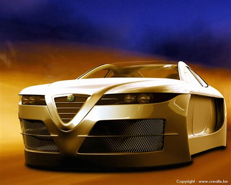 volante car alfa romeo spix concept car volant auto titre