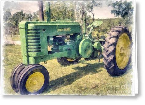 Vintage Tractor Birthday Cards