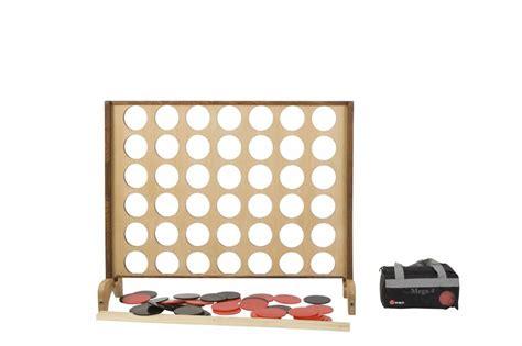 garten 4 gewinnt mega 4 gewinnt 115 x 82 cm eco hartholz mit tasche f 252 r