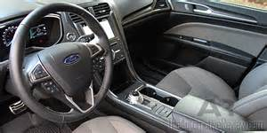 Ford Fusion Interior 2017 Ford Fusion Sport V6 Review The Automotive Review