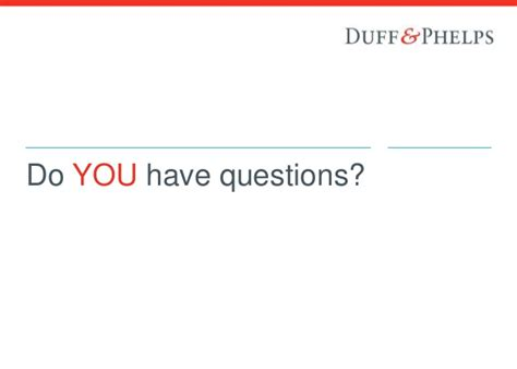Duff Phelps And Mba Business School Interviews by Duff Phelps And You Info Session 2016