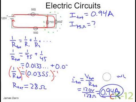 resistor circuit problems and solutions electric circuits resistors in series and parallel