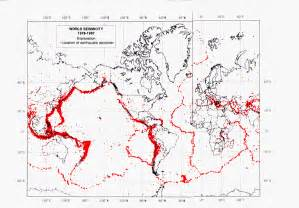 World Earthquake Map by Gallery For Gt Usgs World Earthquake Map