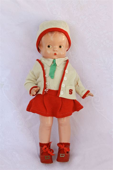 composition doll crazing 14 1930 s effanbee patsy composition doll almost no