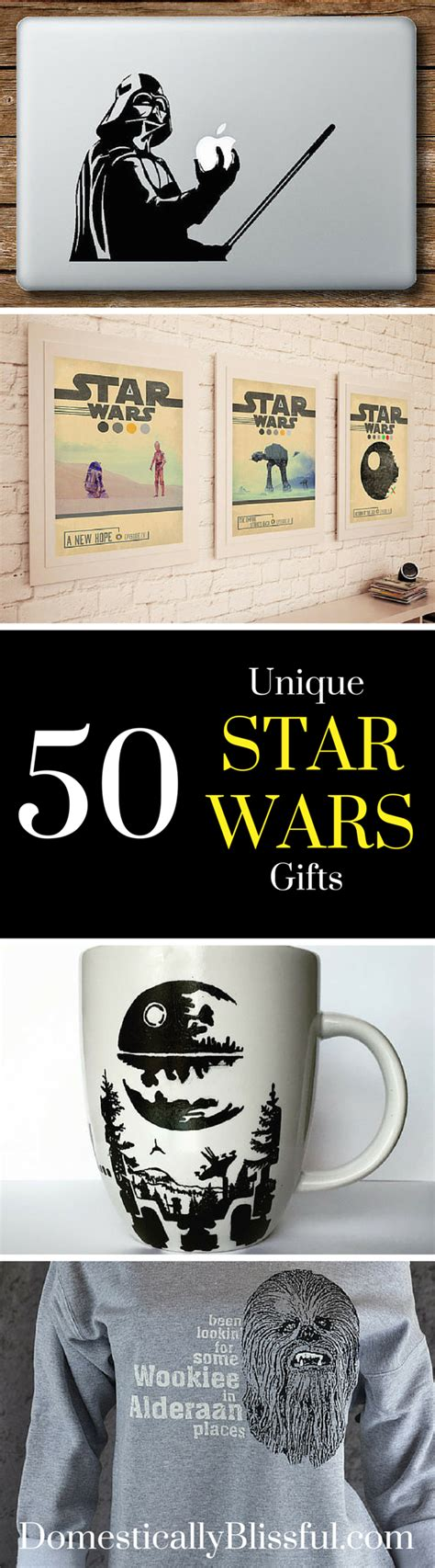50 unique star wars gifts domestically blissful